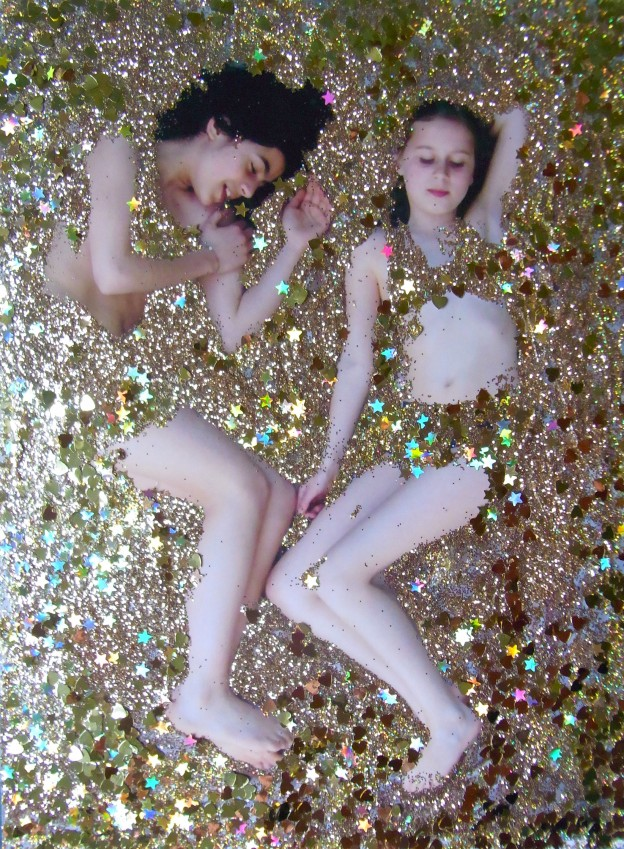Two Girls in Glitter